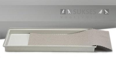 Absorberend honingraatpapier (38x38 cm) voor kooi NL 40 cm