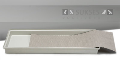 Absorberend honingraatpapier (35.5x40.5 cm) voor kooiserie 90/40